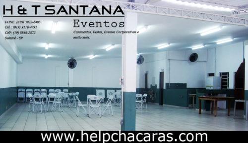 SALÃO DE FESTAS H & T SANTANA