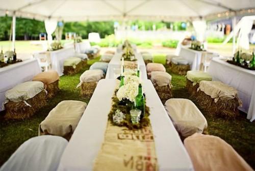 Chácara decorada para casamentos