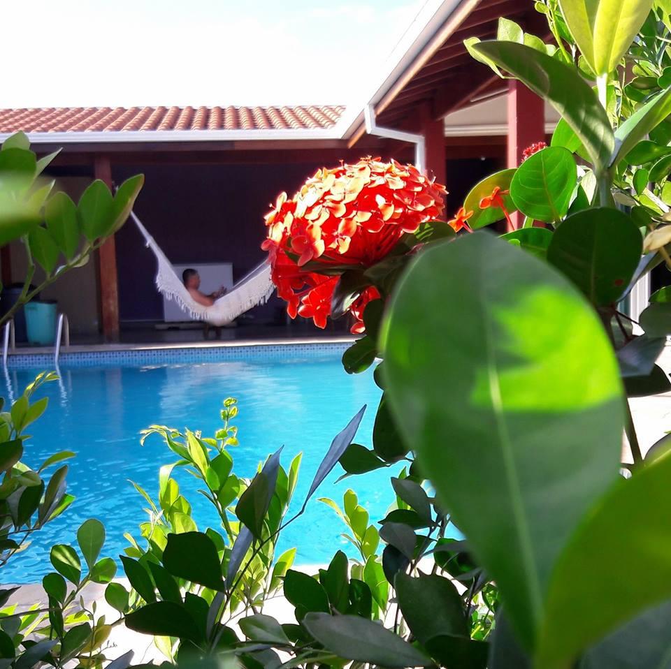 Chácara casa com piscina em Hortolândia